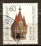 Sellos de Europa - Alemania -   500 años Michel ayuntamiento de la ciudad.