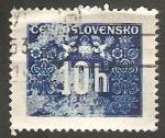 Sellos de Europa - Checoslovaquia -  67 - Sello tasa