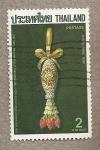 Stamps Thailand -  Año Internacional Escribir Cartas 1987