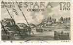 Sellos de Europa - España -  Poblado de Nutka (15)