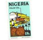 Stamps Africa - Nigeria -  palm oil
