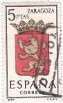 Sellos de Europa - España -  ZARAGOZA - Escudos de las capitales españolas (15)