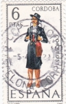 Stamps Spain -  CORDOBA - Trajes regionales (15)