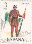 Sellos de Europa - España -  Cabo de cazadores de montaña - Uniformes militares (15)