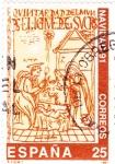 Stamps Spain -  Navidad-91  (15)