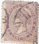 Stamps : Europe : Spain :  Isabel II  (VENTA) (15)