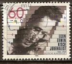 Sellos de Europa - Alemania -  Centenario del nacimiento de Egon Erwin Kisch (periodista).