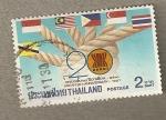 Sellos de Asia - Tailandia -  20 Aniversario ASEAN