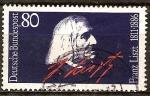 Sellos de Europa - Alemania -  Centenario de la muerte Franz Liszt (1811-1886), compositor, pianista y director de orquesta.