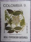Stamps Colombia -  Bicentenario de la Expedición Botánica 1783-1983 - Possiflora Laurifilia L.