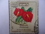 Stamps : Asia : Cyprus :  Anthurium Andreanum