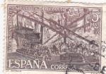 Sellos de Europa - España -  Batalla de Lepanto (15)