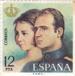 Stamps : Europe : Spain :  Juan Carlos I y Sofía  (15)