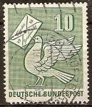 Sellos de Europa - Alemania -  Dia del sello 1956.