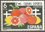 Sellos de Europa - España -  ESPAÑA  EXPORTA  CÌTRICOS