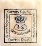 Sellos de Europa - España -  1/4 céntimo