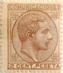 Sellos de Europa - España -  2 céntimos 1878
