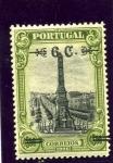 Sellos de Europa - Portugal -  Sellos del Tricentenario sobrecargados
