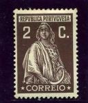Sellos de Europa - Portugal -  Diosa Ceres