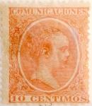 Sellos de Europa - España -  10 céntimos 1899