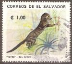 Sellos de America - El Salvador -  TAYRA.  EIRA  BARBARA.