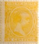 Sellos de Europa - España -  15 céntimos 1895