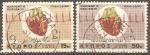 Stamps Cyprus -  CORAZÒN  Y  ELECTROCARDIOGRAMA