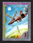 Stamps Equatorial Guinea -  Conquista de Venus