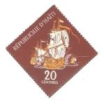 Stamps Haiti -  PUBLICIDAD  TURÌSTICA.  CORSARIO  PIRATA  EN  PLENA  BATALLA.