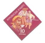 Stamps Haiti -  PUBLICIDAD  TURÌSTICA.  TRES  PIRATAS.