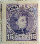 Stamps Spain -  15 céntimos 1905