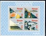 Sellos de Europa - Noruega -  varios