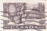 Stamps Canada -  Campamento