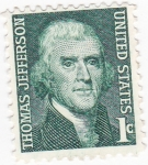 Stamps United States -  Presidente Thomas Jefferson