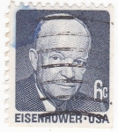 Stamps United States -  Presidente Eisenhower