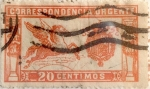 Stamps Spain -  20 céntimos 1905