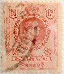Sellos de Europa - España -  10 céntimos 1910