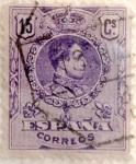 Sellos de Europa - España -  15 céntimos 1909