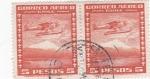 Stamps Chile -  Hidroavión