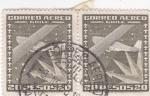Sellos de America - Chile -  Avión