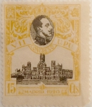 Stamps Spain -  15 céntimos 1920