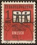 Sellos de Europa - Checoslovaquia -  1902 - Año internacional del libro