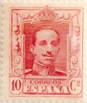 Stamps Spain -  10 céntimos 1922
