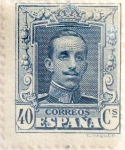Stamps Spain -  40 céntimos 1923