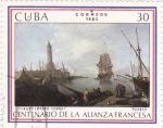 Sellos de America - Cuba -  Centenario de la alianza francesa