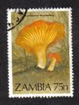 Sellos del Mundo : Africa : Zambia : Cantharellus miniatescens