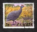 Sellos del Mundo : Africa : Zambia : Numida meleagris