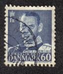 Sellos de Europa - Dinamarca -  King Frederik IX