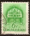 Sellos del Mundo : Europa : Hungría : Corona de San Esteban.