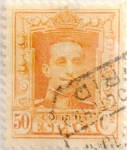 Stamps Spain -  50 céntimos 1925